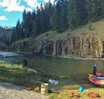Grande Ronde River, Friday campsite