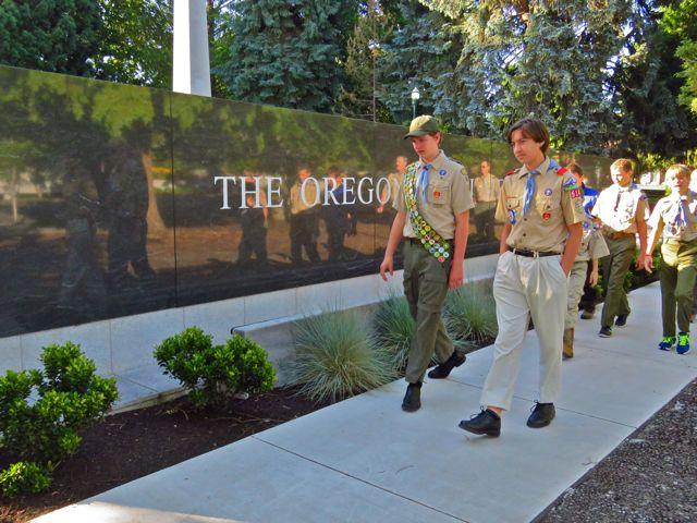 The Oregon WW II Memorial