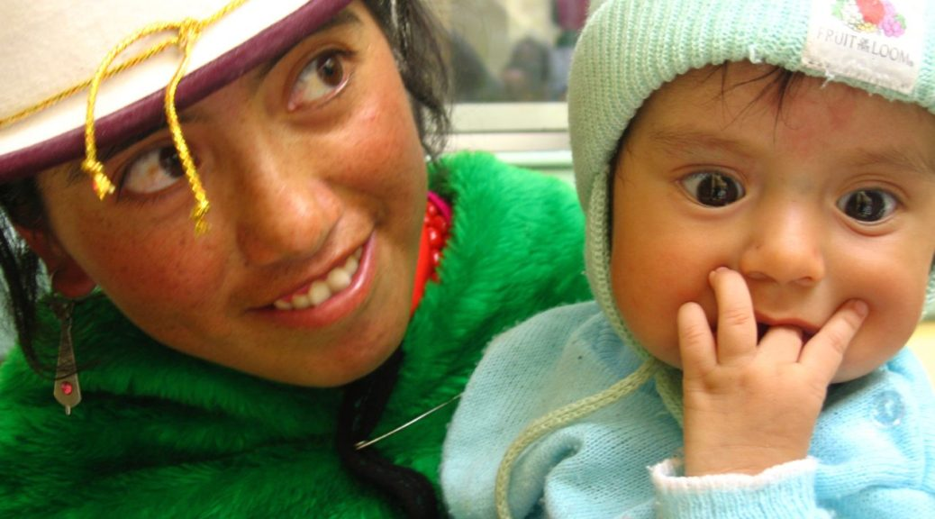 Ecuador mother and child