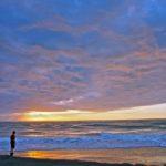 Hokitika.Seabastian sunset