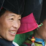Yi funeral women