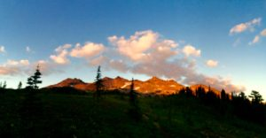 Goat Rocks at Sunset