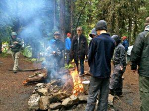 Campfire, Hoffer Lake