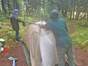 Troop 514 camping