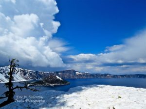 Crater Lake, Pacific Crest Trail