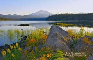 Elk Lake Oregon, South Sister