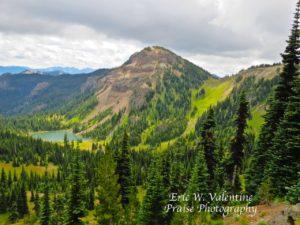 Norse Peak Wilderness Basin Lake