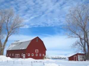 Winter barn Union County