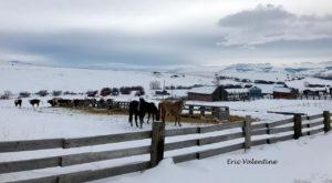 Winter Union County Oregon