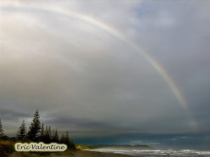 Ohope Beach West End , West End Ohope rainbow