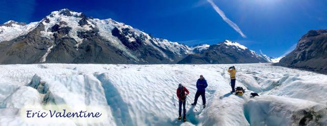 Tasman Glacier and surrounding mountains