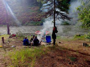 Grande Ronde River campsite