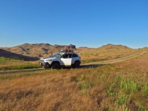 Jeep Cherokee Trailhawk Owyhee country