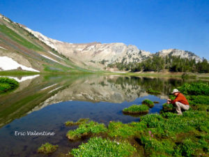 Eagle Cap Wilderness, named lake