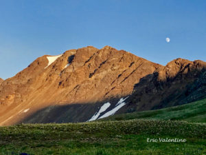 Eagle Cap Wilderness moonrise