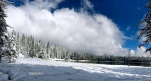 Anthony Lake snow