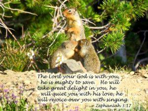 Eagle Cap Wilderness, Zephaniah 3