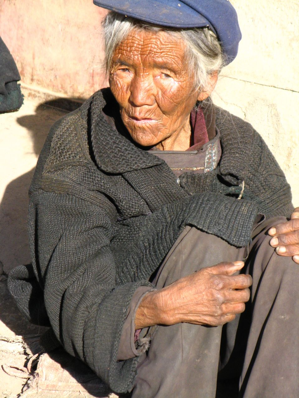 Chinese peasant woman