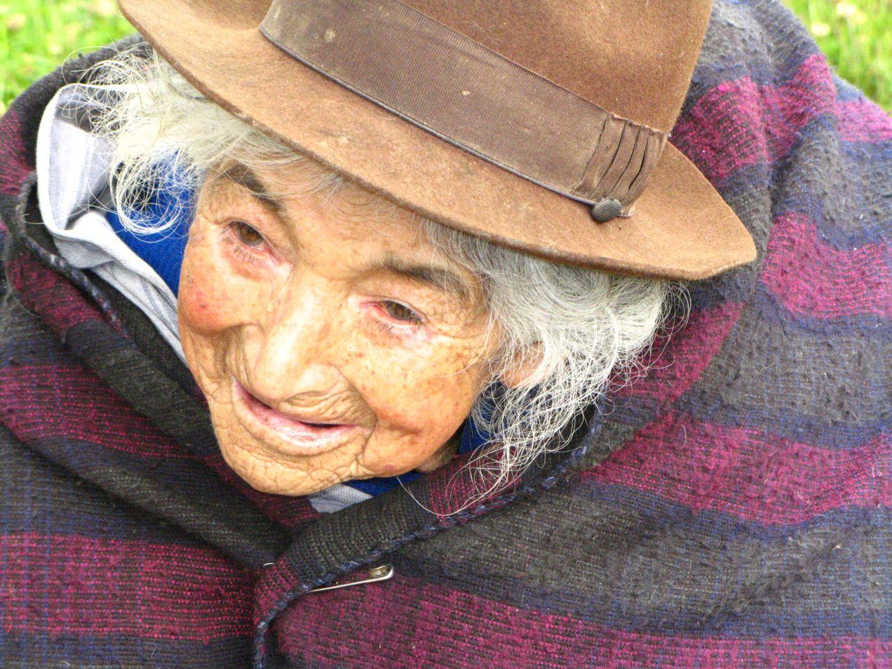 Ecuador elderly woman