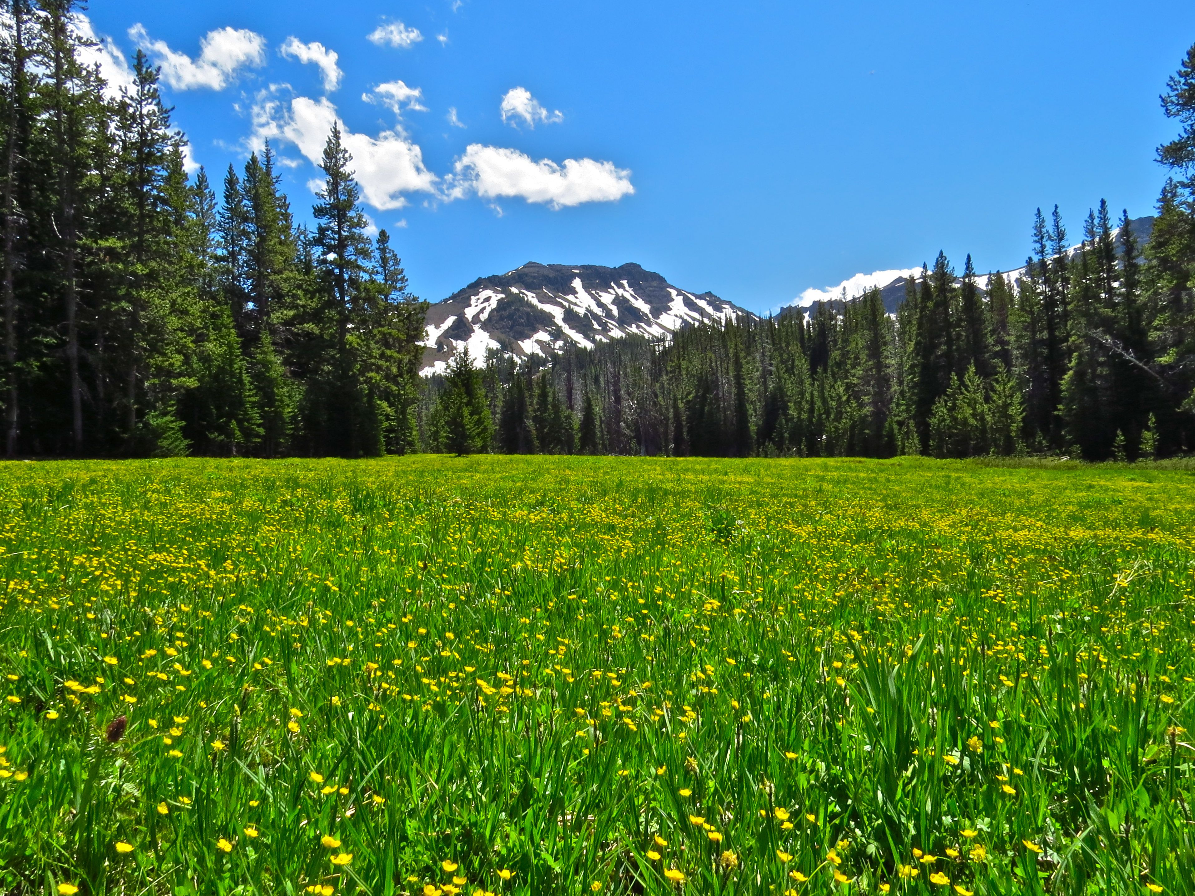 Mcculley basin eagle cap wilderness
