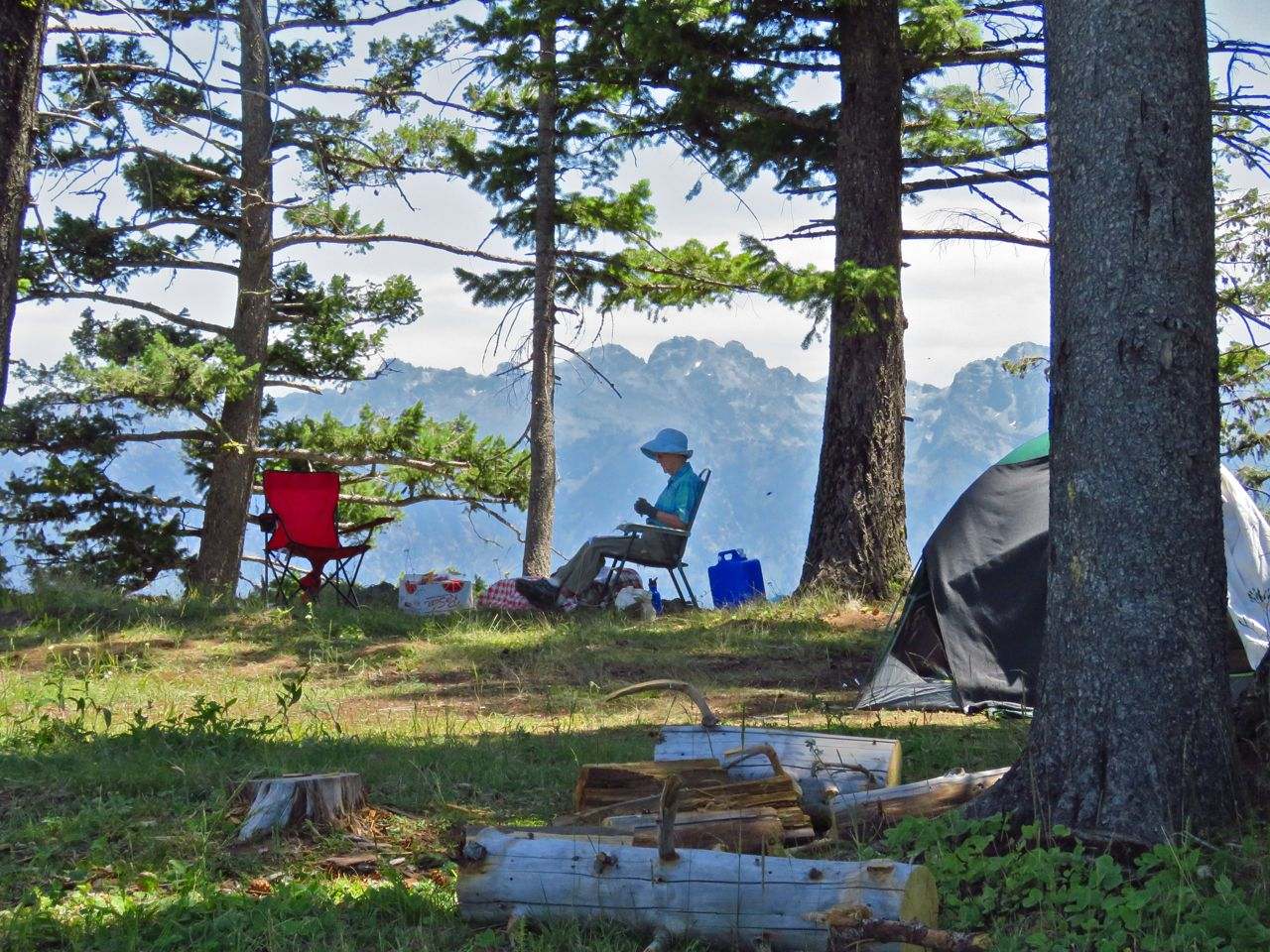 Isaddle creek campground hells canyon