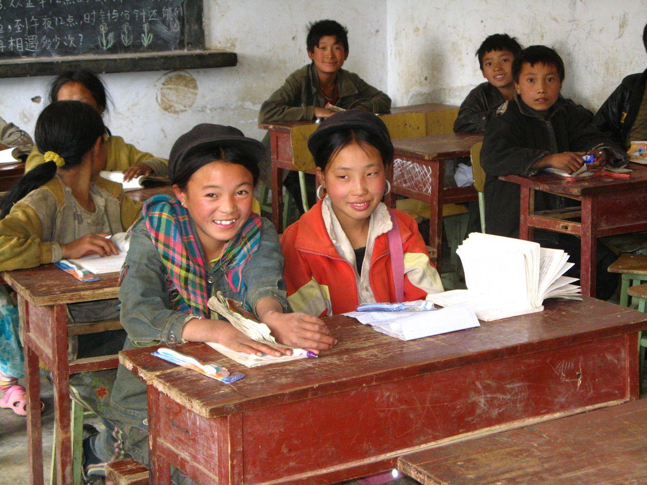 Rural chinese school nosu school