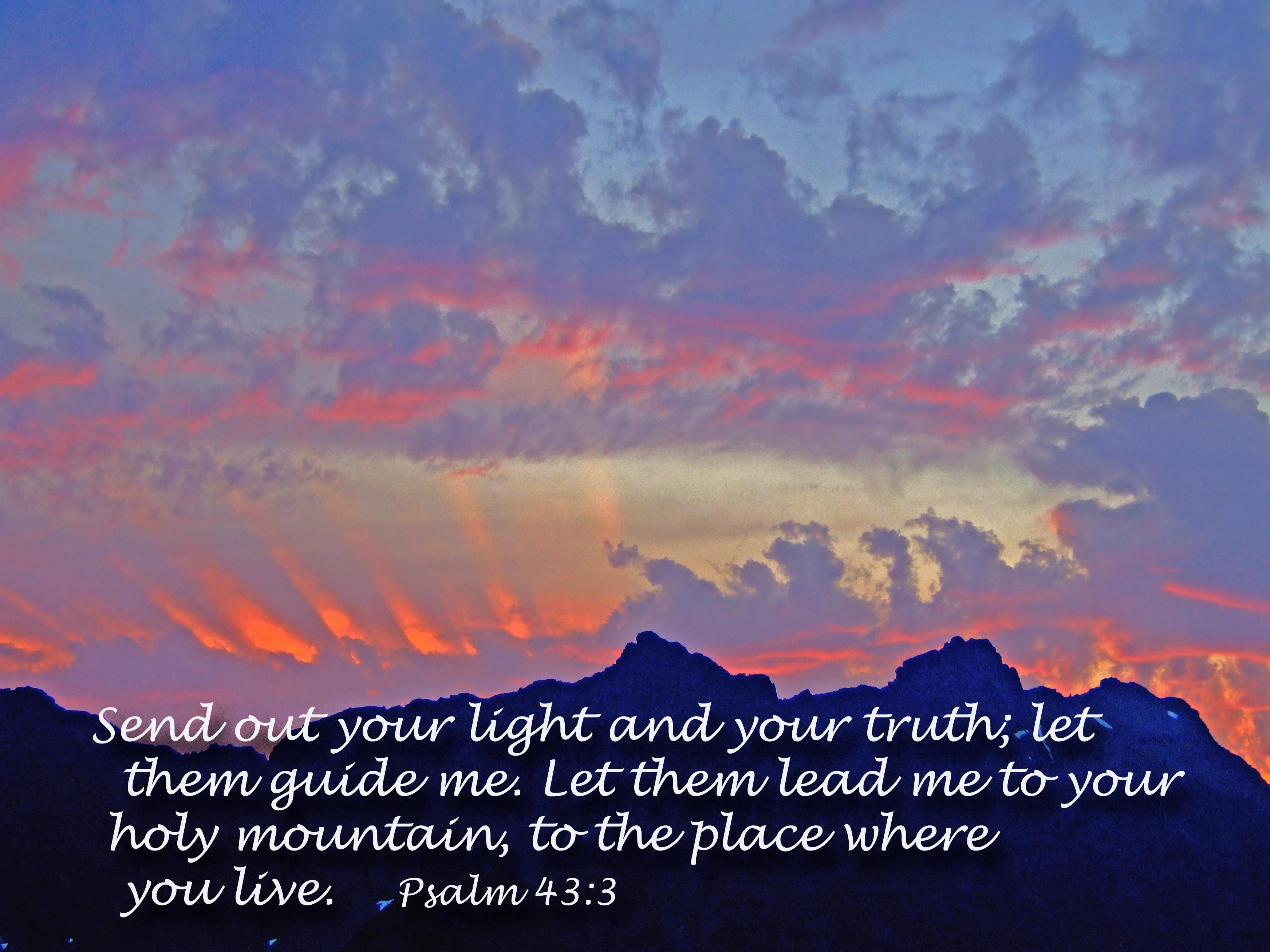 Psalm 43 3