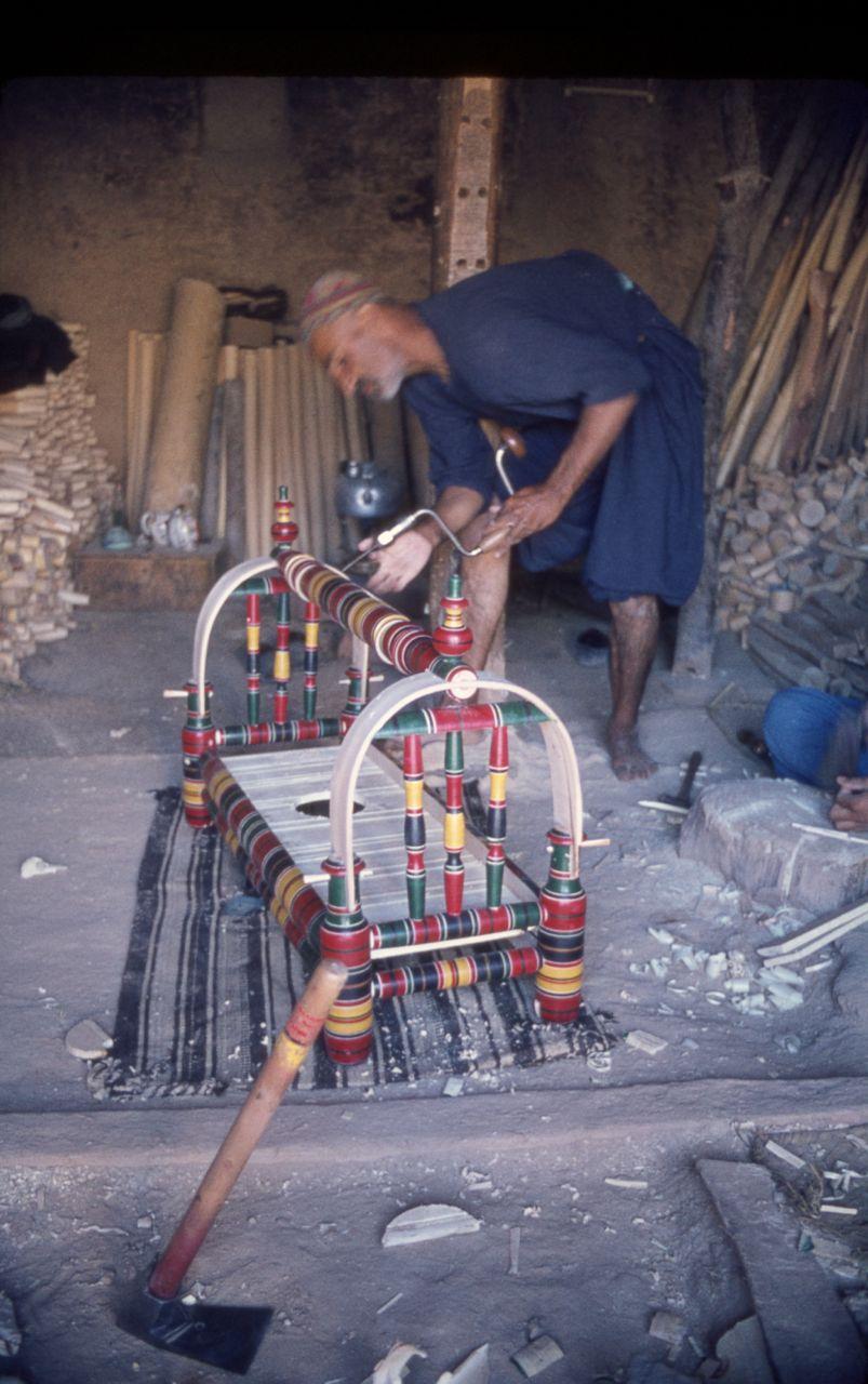 Afghan craddle