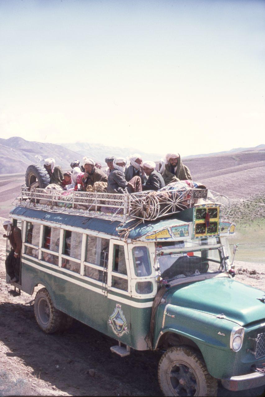 Afghanistan afghan bus
