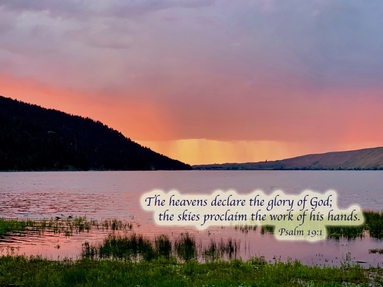 Wallowa lake psalm 19