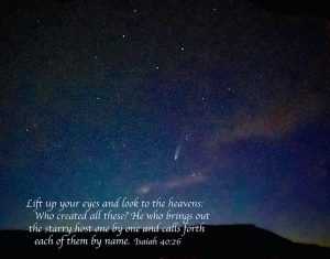Lift up your eyes isaiah 40