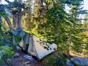 B basin tent